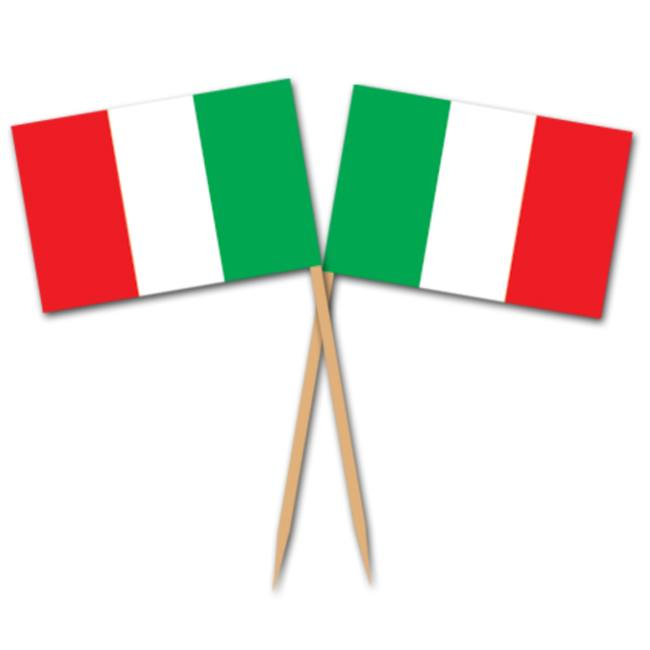 Italian Flag Picks Picks Straws Amp Stirrers