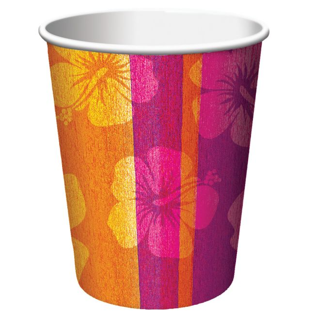 Aloha Summer 9 oz Hot/Cold Cups: Party at Lewis Elegant