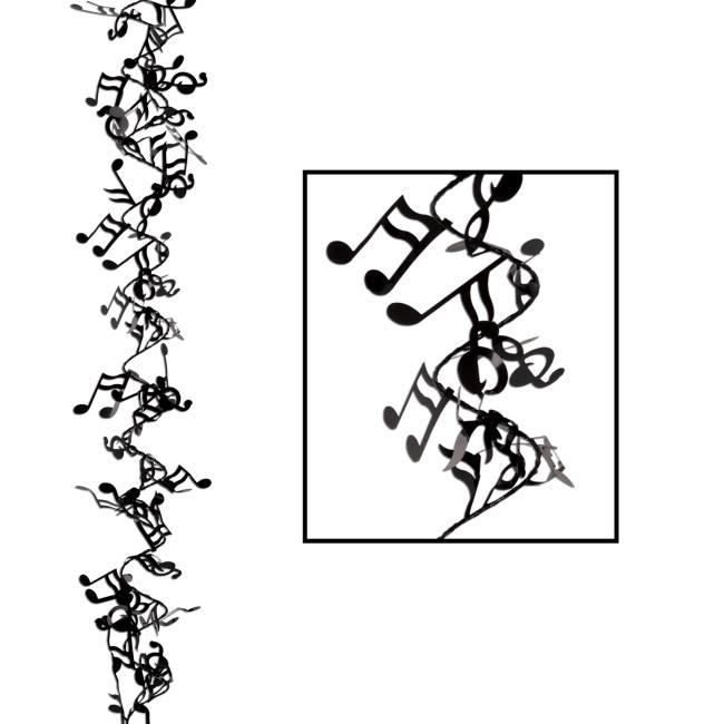 Musical Notes Gleam N Flex Wire Garland: Musical