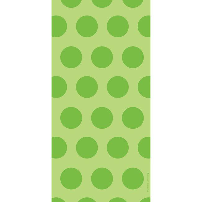 Polka Dot Cello Bags, Lime Green: Party at Lewis Elegant