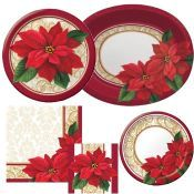 Holiday Plastic Dinnerware & Serveware