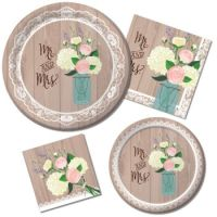 Rustic Wedding: Party at Lewis Elegant Party Supplies ...