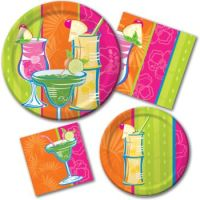 Summer Plastic Dinnerware & Image Is Loading REUSABLE ...