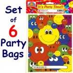 Unisex Smiley Face Party Bag