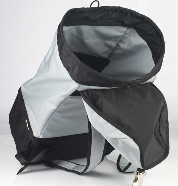 Partybag MINI ha tutto lo spazio che ti serve per la vita di tutti i giorni