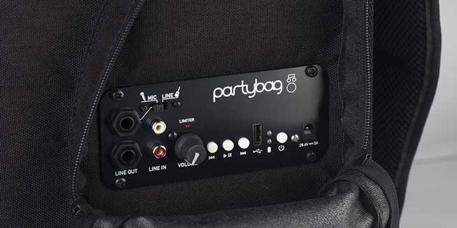 Ingresso Mic/Line su Jack, Ingresso indipendente di linea RCA, Connessione senza fili Bluetooth®, Lettore USB/MP3