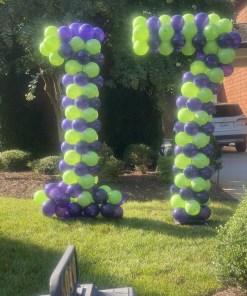 PARTY BALLOONSBYQ IMG_8192 Balloons Fuquay Varina Nc