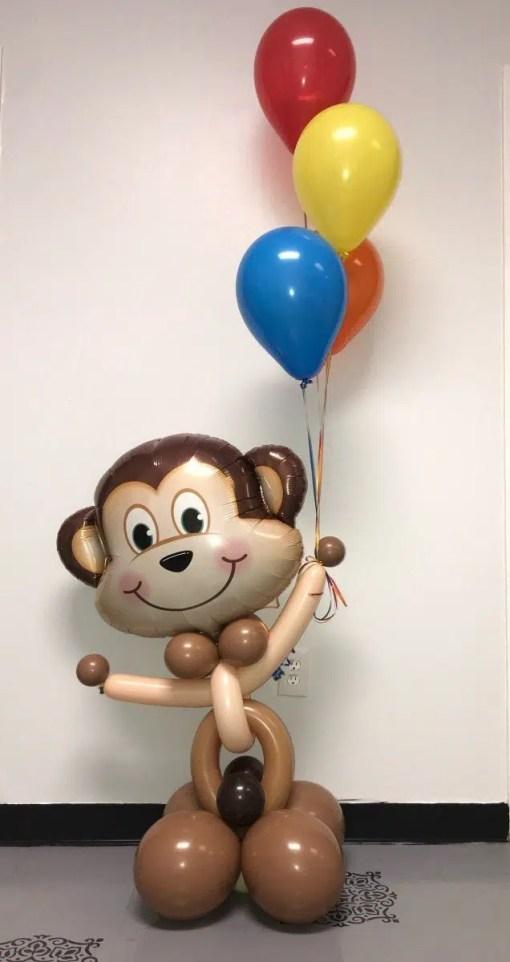 Mischievous Monkey Animal Balloon