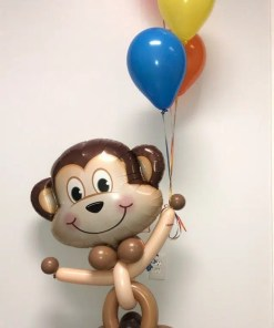 Mischievous Monkey Animal Balloon