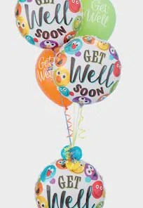 GET WELL SOON SMILEYS