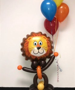 Lovable Lion Animal Balloon