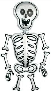Mr Skeleton Air Walker