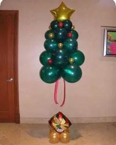 Floating Balloon Christmas Tree
