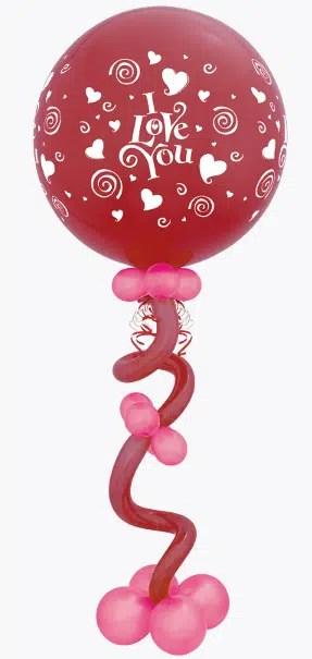 Heart Balloon centerpoiece