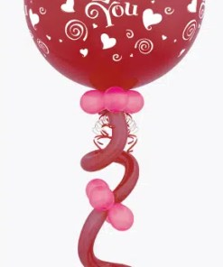Heart Balloon centerpoiece