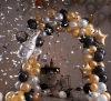 new years balloon arch