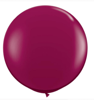 "Burgundy 36 "" latex"