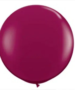 "Burgundy 36 "" latex"