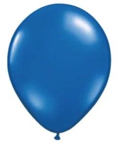 Sapphire Blue Latex Balloon