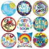PARTY BALLOONSBYQ get-well-mylar-balloons Classic Get Well Bouquet