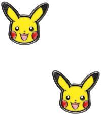Pokemon Pikachu Head Stainless Steel Stud Earrings ...