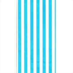 Blue Stripe Paper Party Bags - Blue Gift Bags