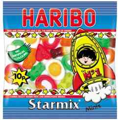Haribo Starmix Party Sweets Mini Bag