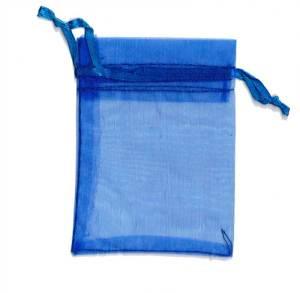 Organza Bag Royal Blue