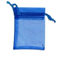 Royal Blue Organza Bags – 7cm x 5cm – Gift Bags