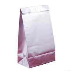 Silver Paper Party Bags - Paper Gift Bags