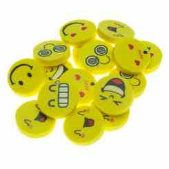 Emoji Rubbers - Themed Party Fillers