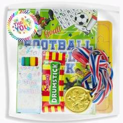 Football Activity Packs - Kids Ready Made Party Bags