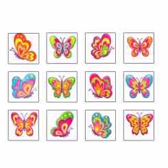 Butterfly Tattoos for Kids - Party Fillers