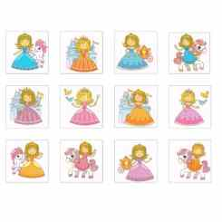 Princess Tattoos for Kids - Party Bag Ideas