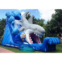 Chairs For Toddlers Antique Wicker Shark Inflatable Slide Rentals In Miami, Fort Lauderdale, Boca Raton