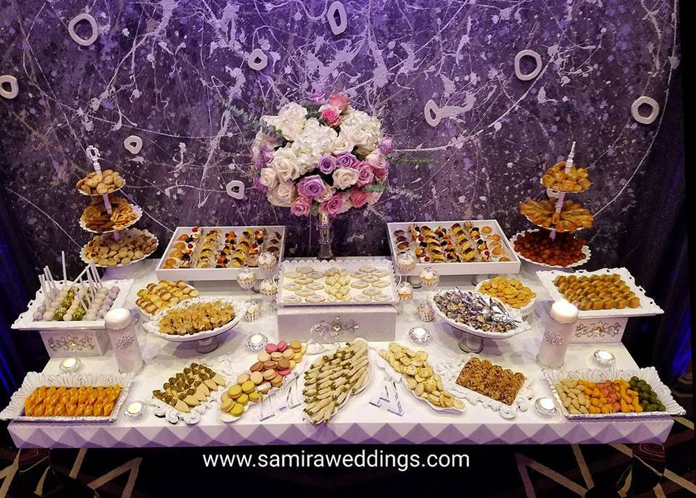sweet table  Persian Wedding and Party Services Photos By Samira Weddings  events