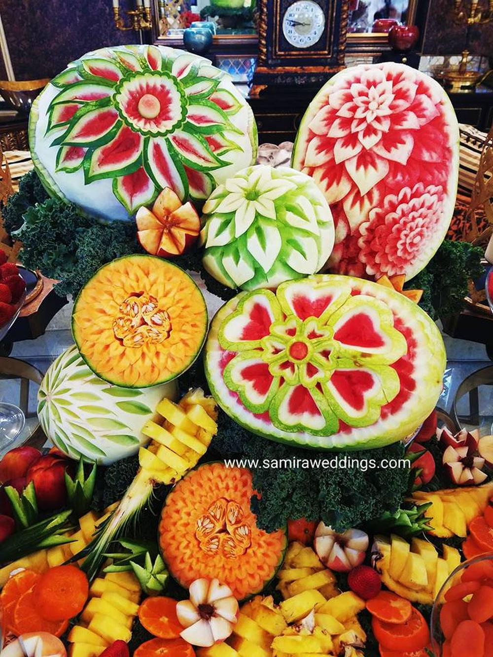 fruit display  Persian Wedding and Party Services Photos By Samira Weddings  events