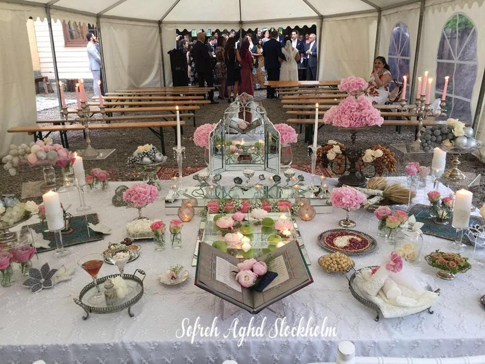 Sofreh Aghd Stockhom  Persian Wedding and Party Services Photos By Sofreh aghd stockholm