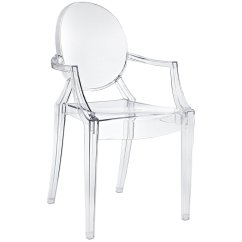 Plastic See Through Chair Theater Cad Block Ghost With Arms Home Chairs
