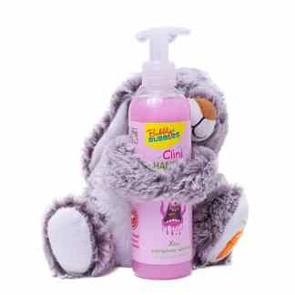 Bubbly Bubbles Geschenk knuffelkonijn handzeep roze