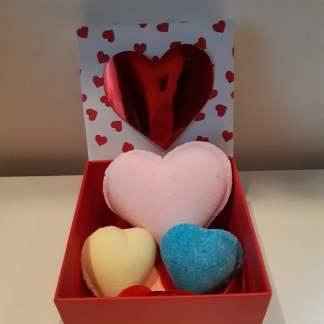 Valentijnsbox gekleurd