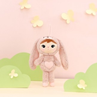 Metoo konijn poederroze knuffel 30cm