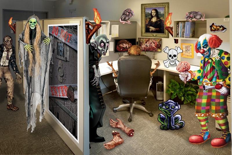 Halloween Office Decorating Ideas