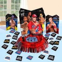 WWE Table Decorating Kit - PartyCheap