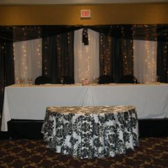 Chair Covers White Linen Union Jack Party Connection Rentals - Event & Wedding Decor