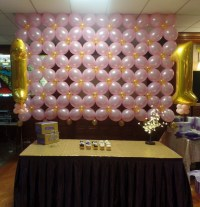 PURPLE, PINK AND GOLD - PARTY DECORATIONS BY TERESA