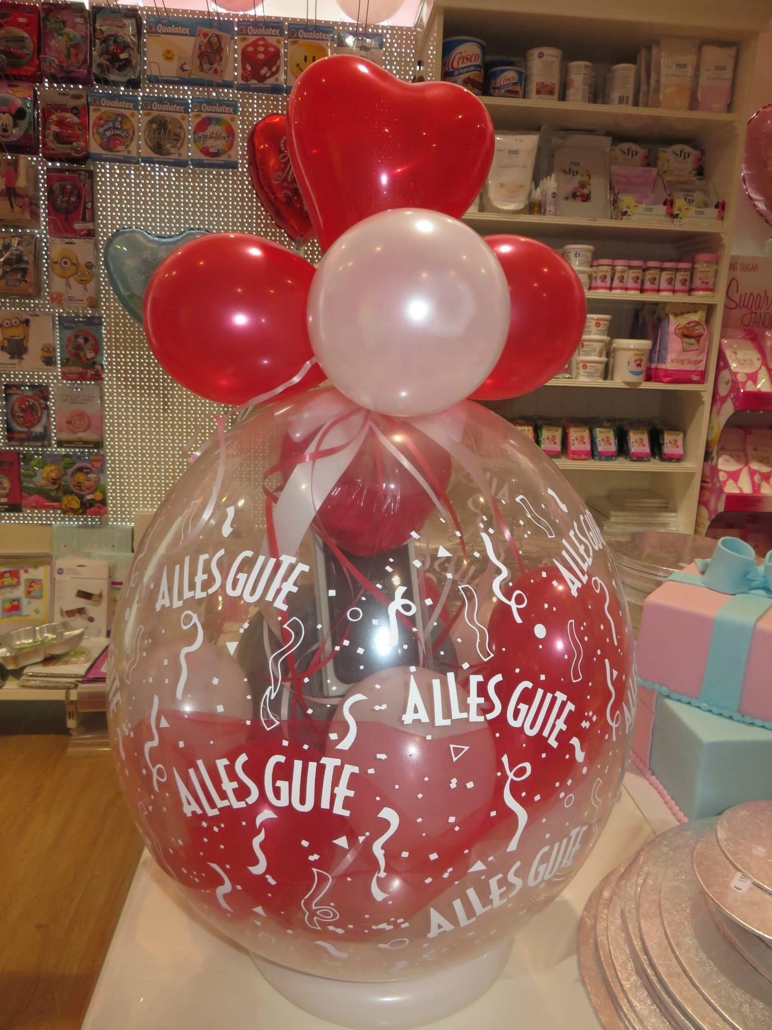 Tolle Ballongeschenke oder Ballon Dekorationen findest du