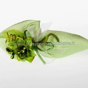 Cono Moire - verde (10 PZ) STOCK-0