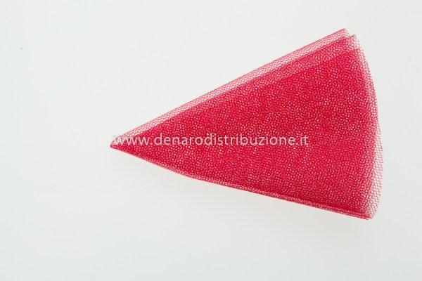 TULLE TONDO 23 CM - ROSSO (CF. 50 PZ)-0