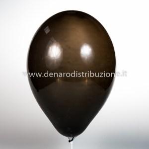 """Palloncino Tondo Nero Pastello 12""""/30 cm. (100 Pezzi)-0"""
